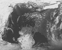 Satellitenbildszene Europa