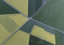Luftbildszene Mitteldeutschland